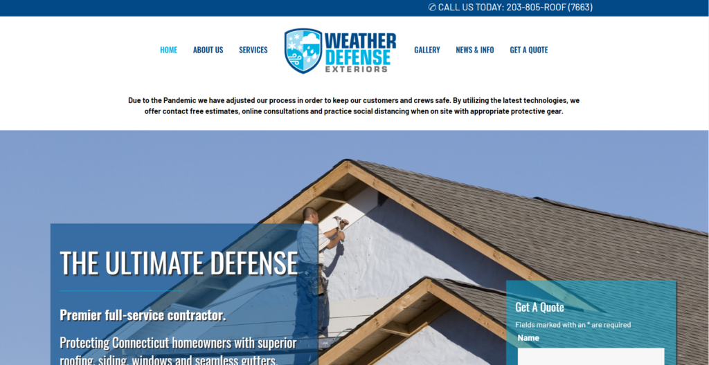 Weather Defense Exteriors