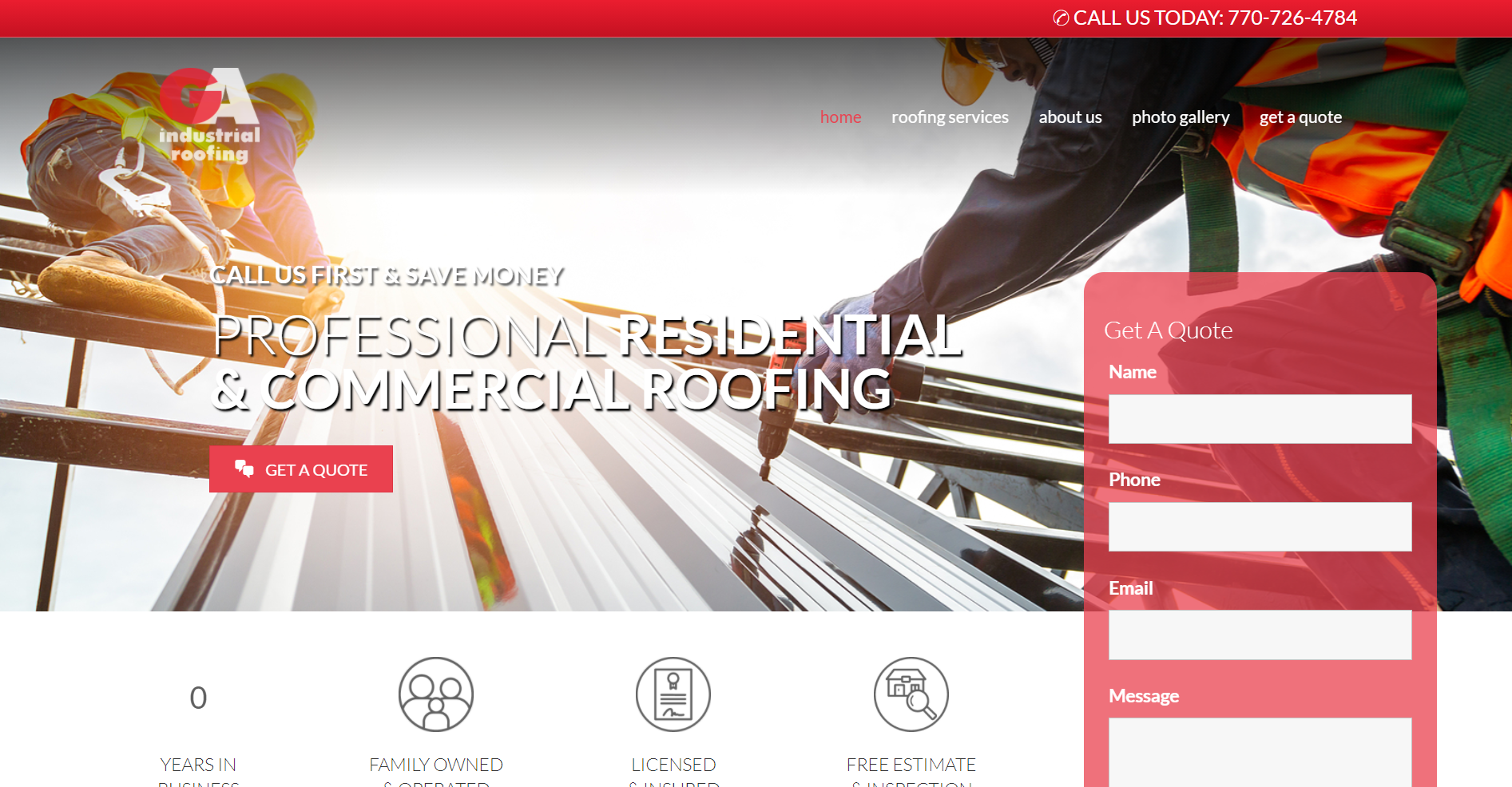 GA Industrial Roofing