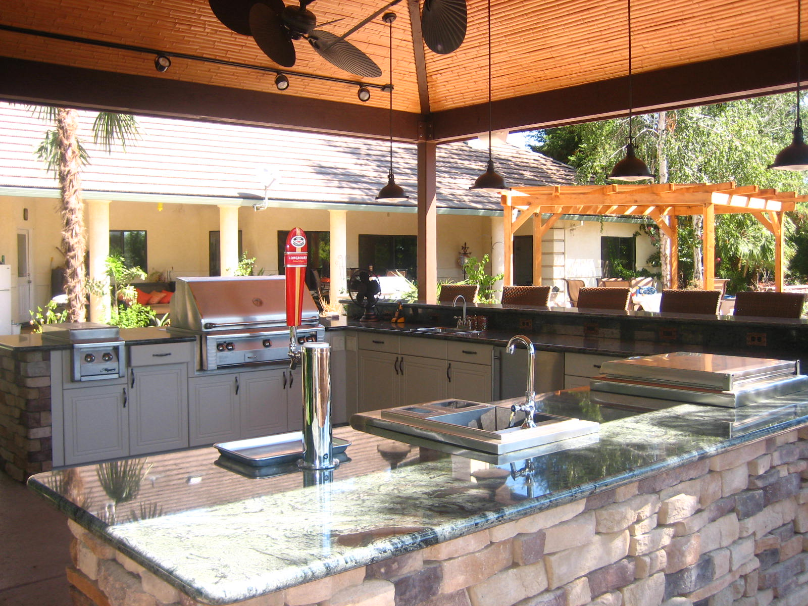 Naturekast Outdoor Summer Kitchen Cabinet Gallery: 3 Design Ideas For An Outdoor Kitchen