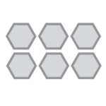 hexagonalgrates