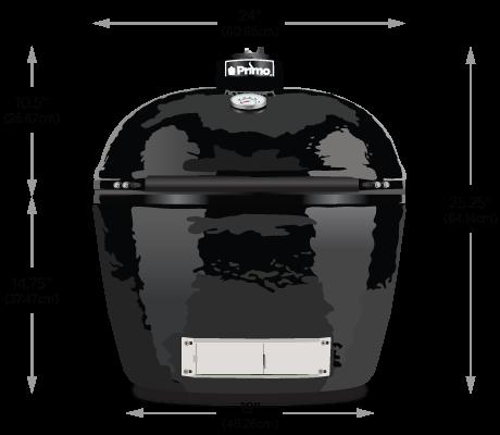 Primo Oval LG 300 Dimensions