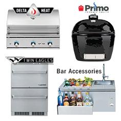 Grills & Appliances from Lanai Kitchens in Largo Florida