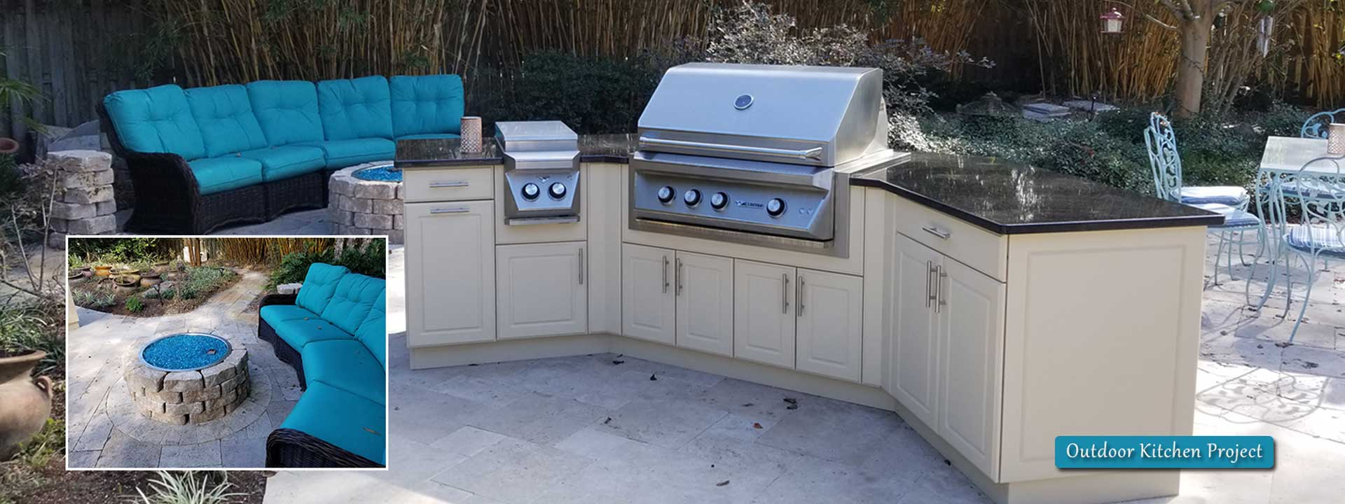 Art Zigler Outdoor Kitchen Project