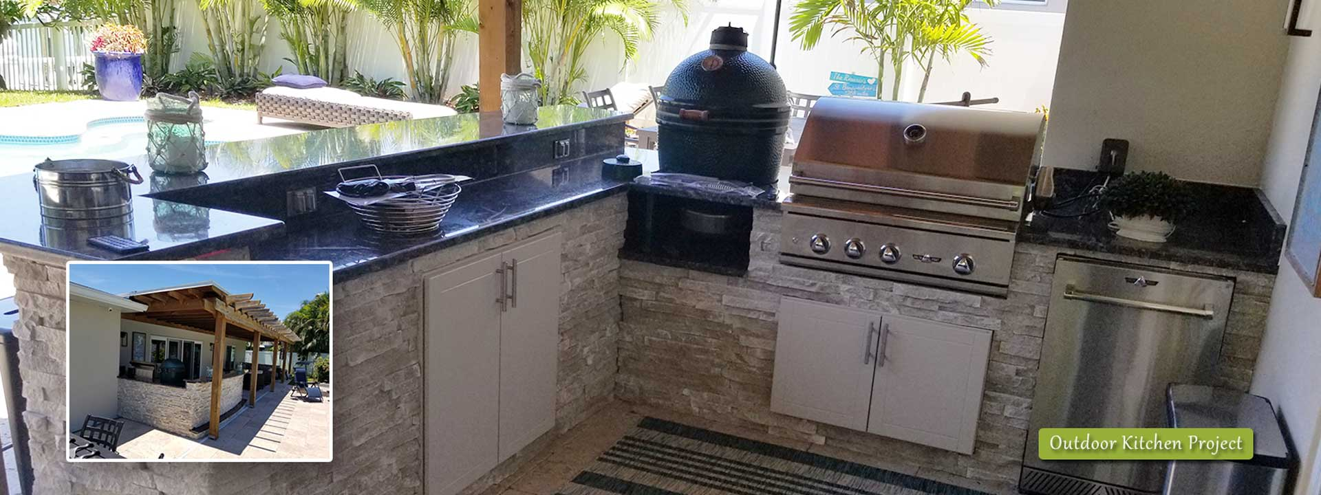 Rosario Outdoor Kitchen Project