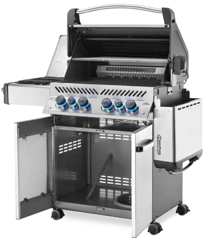 Napoleon Prestige P500RSIBPSS-3 Grill | Available at Lanai Kitchens in Largo Florida