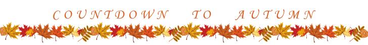 Countdown to Autumn Banner