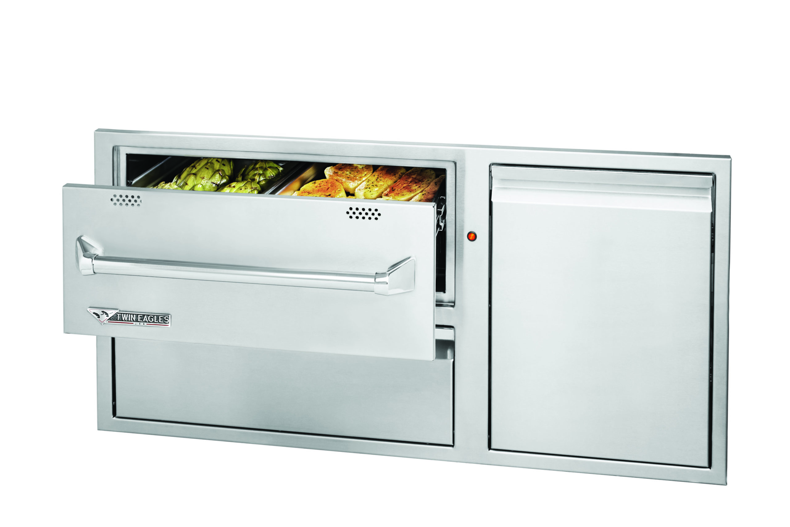 "Twin Eagles 42"" Warming Drawer Combo"