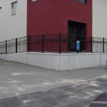 Business concrete ramps