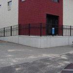 Business concrete ramps