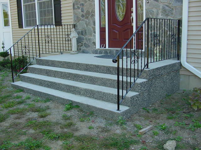 Prefabricated concrete steps 2