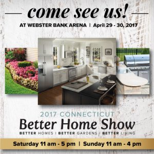 Come See Us At The Better Home Show 2017 At Webster Bank Arena 4 29 4 30 Mono Crete Step Llc