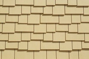 Abstract Shingles Background from New Building Construction