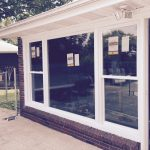 Grand Estates Picture Window with Double Hung Flanks installed in New Windsor