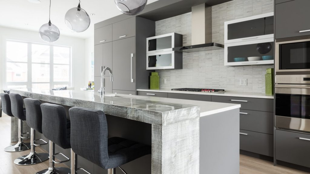 contemporary kitchen Fresh contemporary kitchen design cabinets ateliers jacob calgary