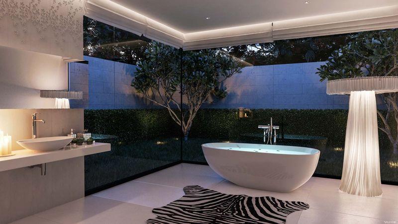 contrasting-texture-bathroom