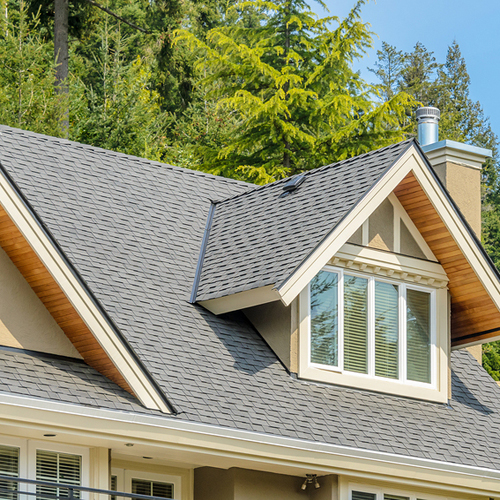 Superior roofing and siding services.