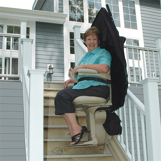 Some Companies Try To Sell A Curved Rail Stair Lift Using U201cstocku201d  Components From A Truck! Donu0027t Be Fooled! These Rarely Provide A Proper  Fit, ...