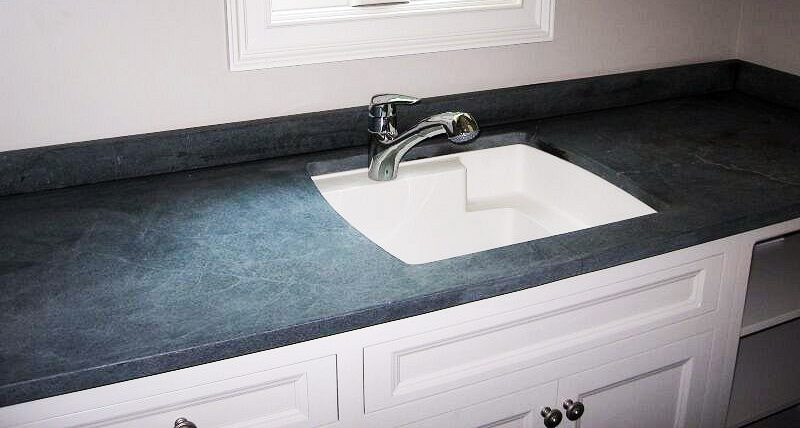 Soapstone-countertop-with-sink
