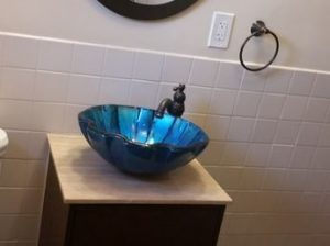 Sink remodel