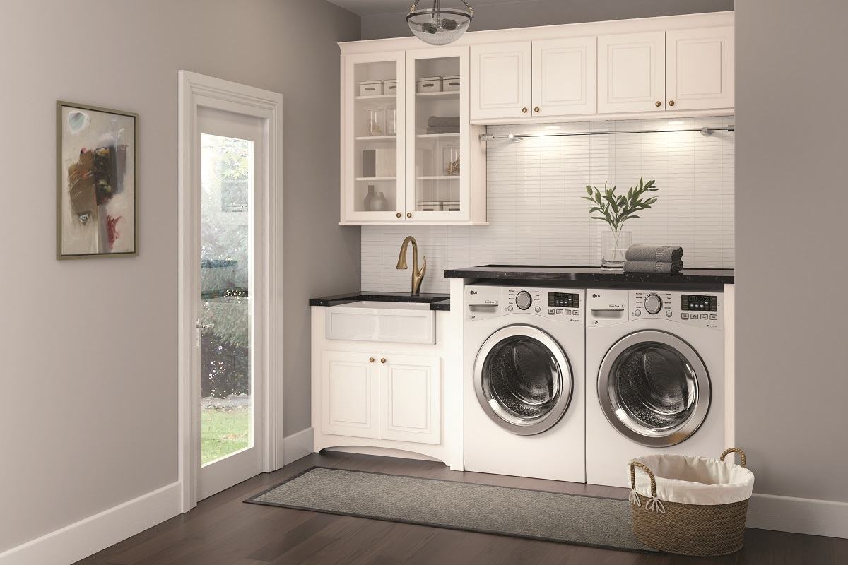 Organize Laundry Room Cabinets