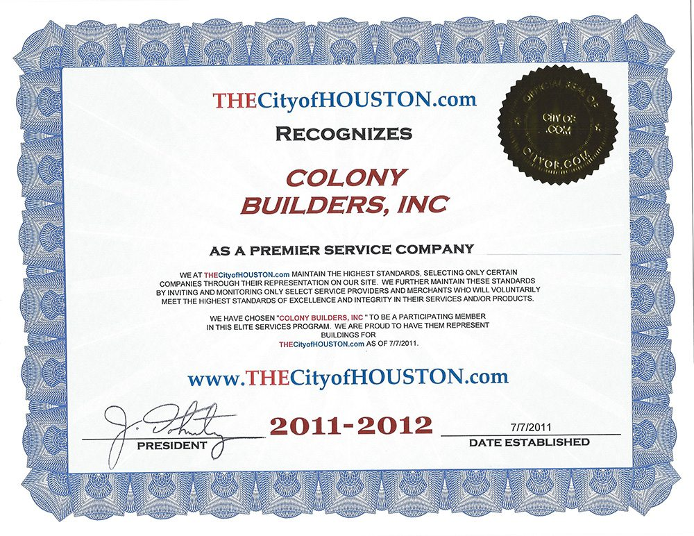 colony-builders-houston-award-2011