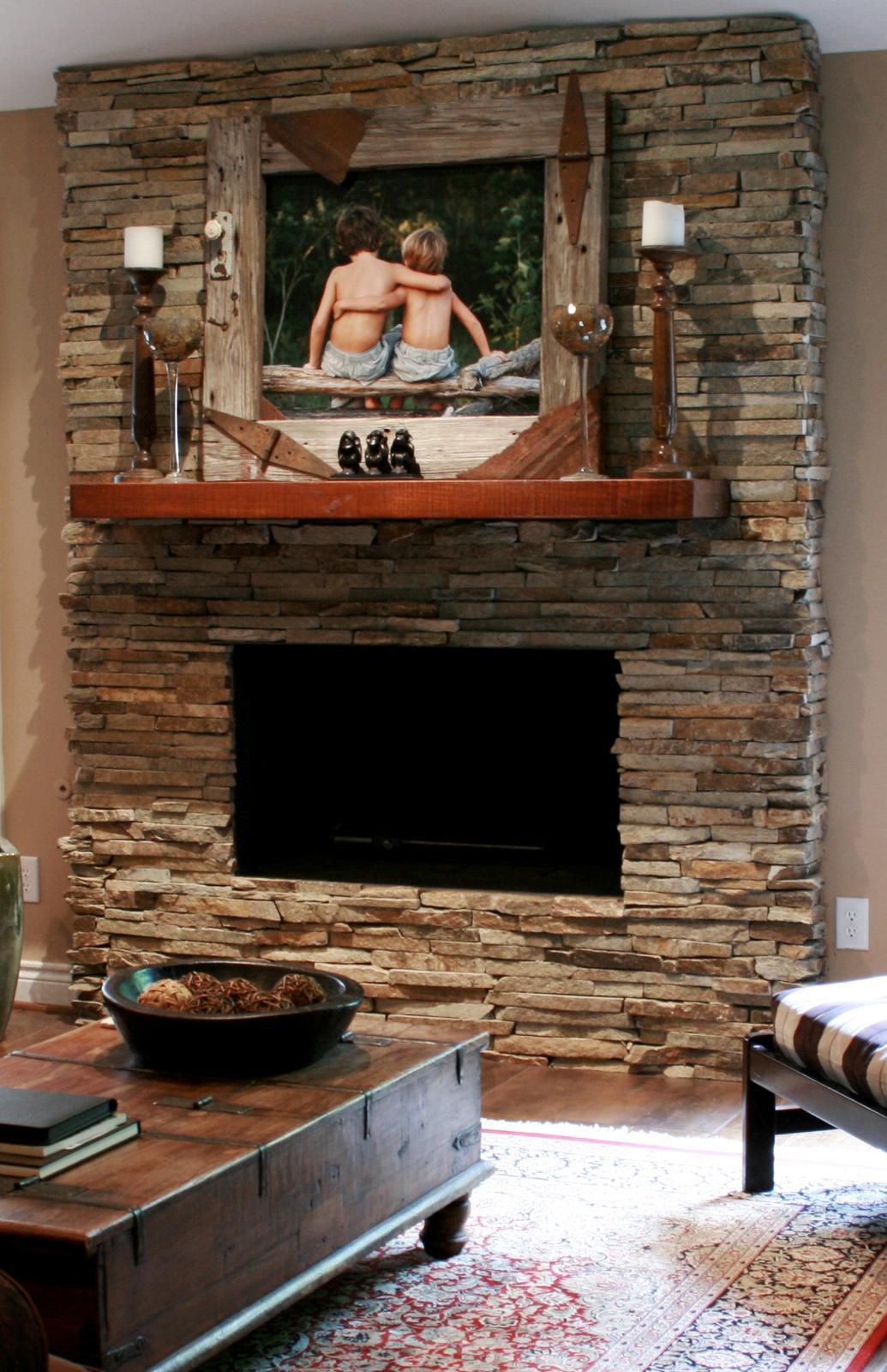 Smeraldi-Fireplace