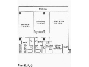 Old Floor plan