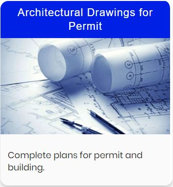 Architectural plans for remodeling and custom homes, permit plans