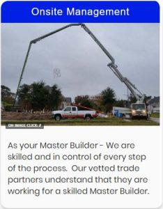 Onsite construction Management