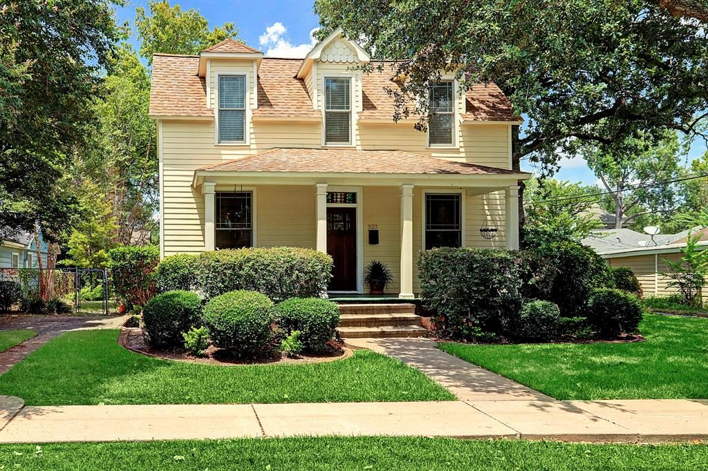 Houston Heights Historic District Home remodeling