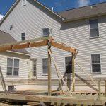 Deck Rebuild With Pavilion