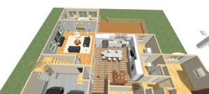 Kilroy doll house 1st floor