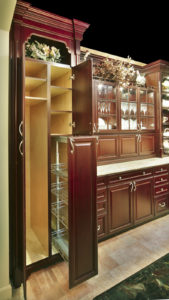 chrome pulloutbroom(c)boss cabinetry