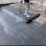 Torch Down roofer